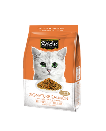 Kit Cat Signature Salmon Premium Cat Food 1.2kg