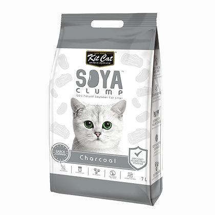 Kit Cat SoyaClump Charcoal SoyBean Litter 7l