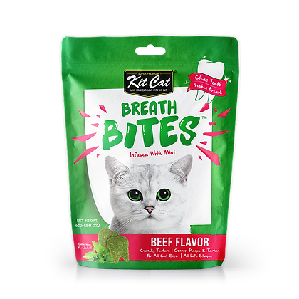 Kit Cat Breathbites Beef 60g