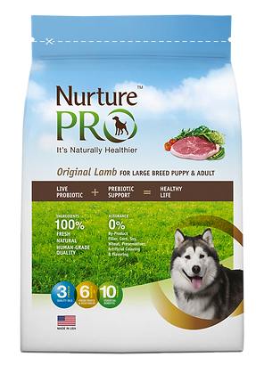 Nurture Pro Original Lamb Formula Large Breed Dog Dry Food 4lbs