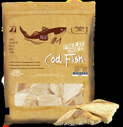 Absolute Bites Freeze Dried Cod Fish Treats 4oz
