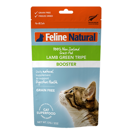 Feline Natural Lamb Green Tripe Booster 57g