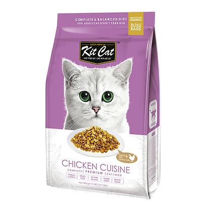 Kit Cat Chicken Cuisine Premium Cat Food 5kg
