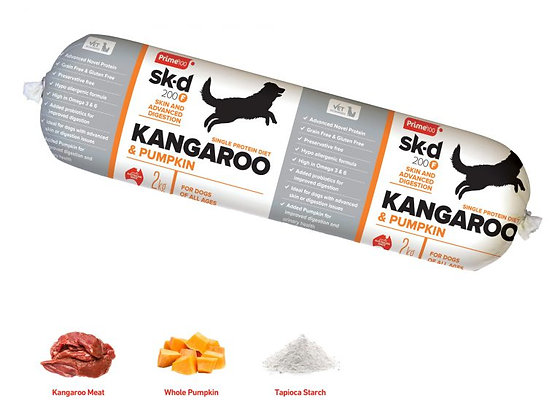 Prime100 SPD Rolls - Kangaroo and Pumpkin 2kg