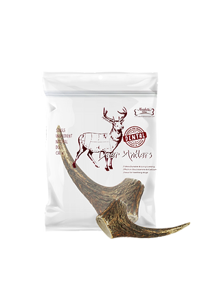 Absolute Bites Whole Deer Antlers Dental Chew (Maxi)
