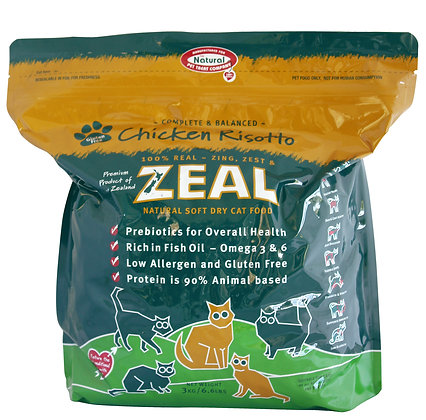 Zeal Chicken Risotto Cat Dry Food 1.5kg
