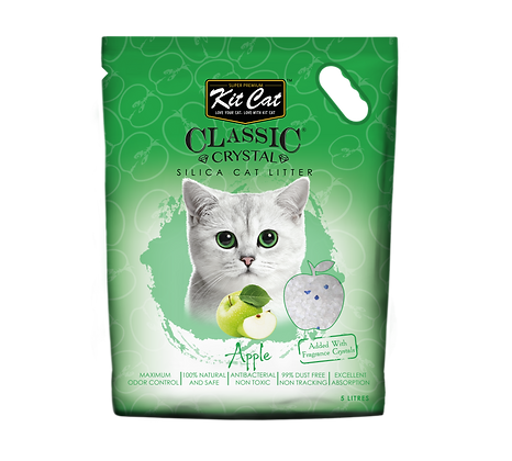 Kit Cat Apple Crystal Cat Litter 5l