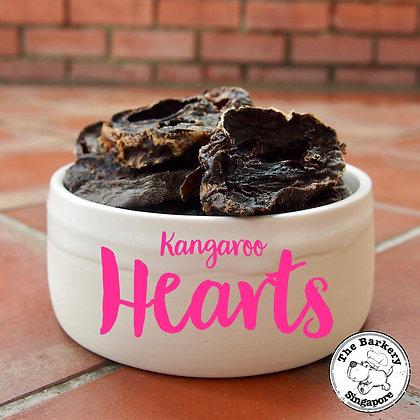 The Barkery - Dehydrated Kangaroo Heart 100g