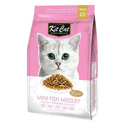 Kit Cat Mini Fish Medley Premium Cat Food 5kg