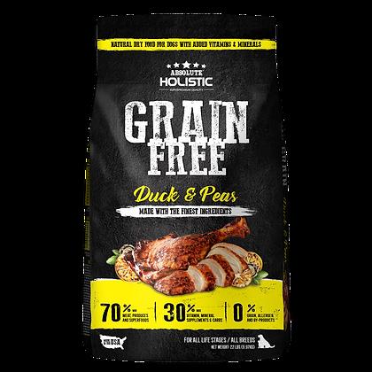 Absolute Holistic Grain Free Duck & Peas Dog Food 22lbs