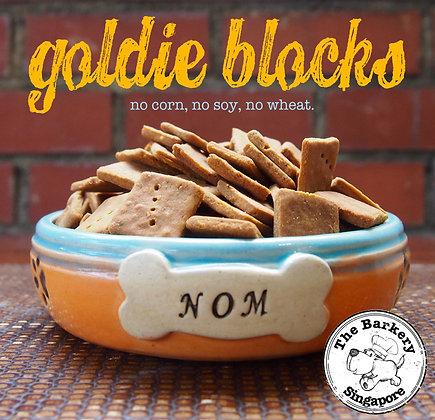 The Barkery - Goldie Blocks 100/200/450g