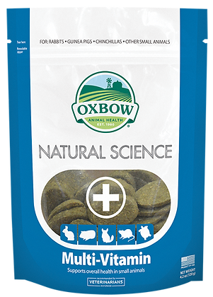 Oxbow Natural Science Multi Vitamin 120g
