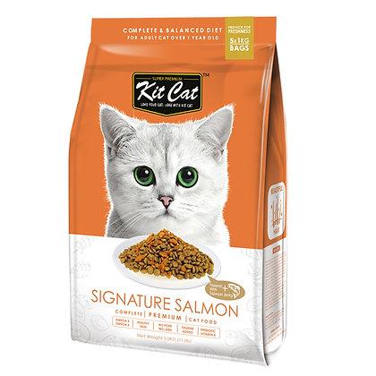 Kit Cat Signature Salmon Premium Cat Food 5kg
