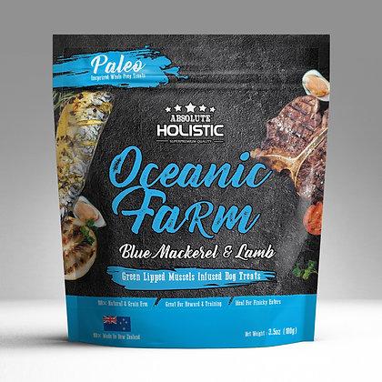 Absolute Holistic Air Dried Dog Treats (Oceanic Farm) 100g