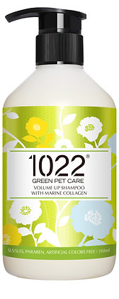 1022 Volume Up Dog Shampoo 310ml/4l