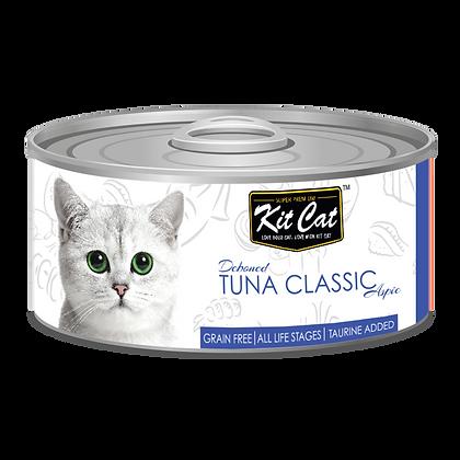 Kit Cat Tuna Classic Aspic Canned Cat Food 80g