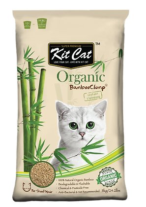 Kit Cat Organic Bamboo Clump (Short Hair) 11kg
