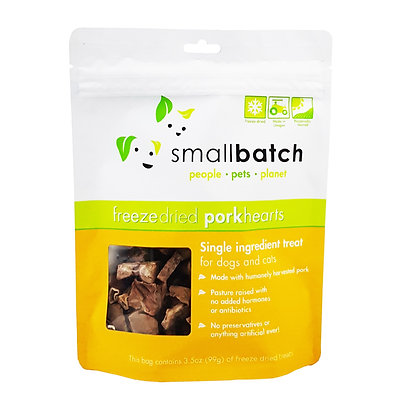 SmallBatch Pork Heart Treat 3.5oz