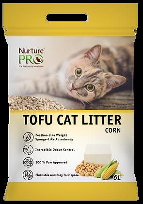 Nurture Pro Corn Tofu Cat Litter 6l