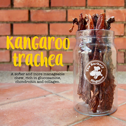 The Barkery - Dehydrated Kangaroo Trachea 80g