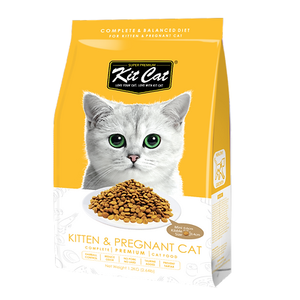 Kit Cat Kitten & Pregnant Premium Cat Food 5kg