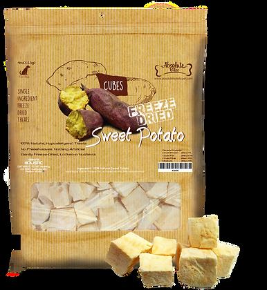 Absolute Bites Freeze Dried Sweet Potato Treats 4oz