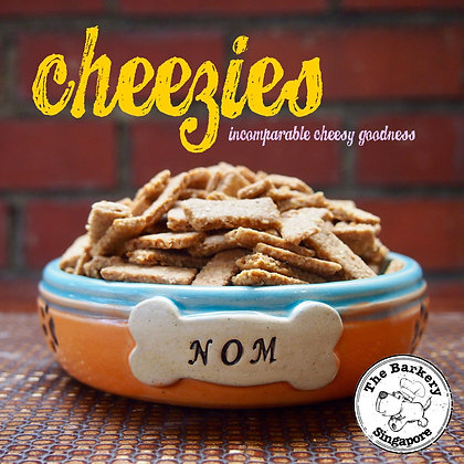 The Barkery - Cheezies 100/200/450g