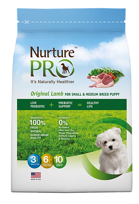 Nurture Pro Original Lamb Formula Small, Medium Breed Dog Dry Food 26lbs