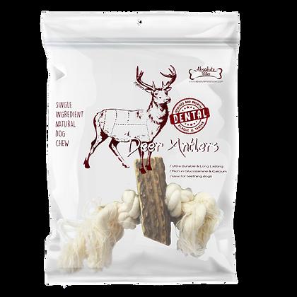 Absolute Bites Deer Antlers Medium Rope