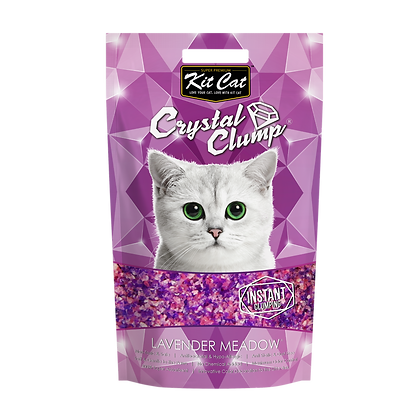 Kit Cat Crystal Clump Lavender Meadow 4l/1.8kg