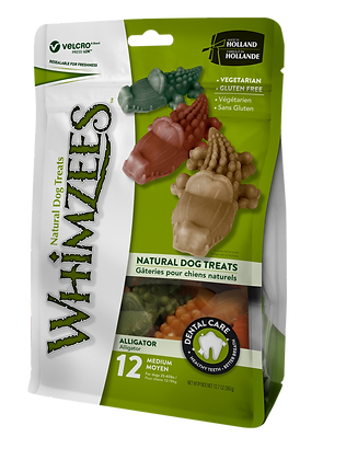 Whimzees Dental Treat - L Alligator
