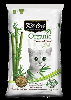 Kit Cat Organic Bamboo Clump (Long Hair) 11kg