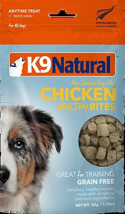 K9 Natural Freeze Dried Chicken Healthy Bites 50g