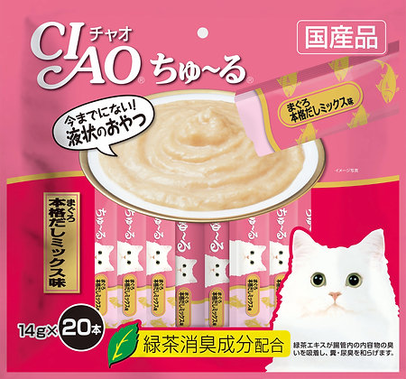 Ciao Chu ru Tuna Japanese Broth 14g x 20