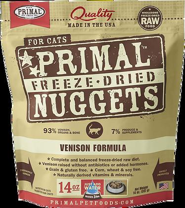Primal Freeze Dried Feline Venison Nuggets (Cat) 14oz