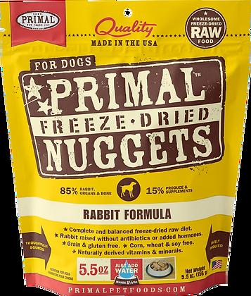 Primal Freeze Dried Rabbit (Dog) 5.5oz