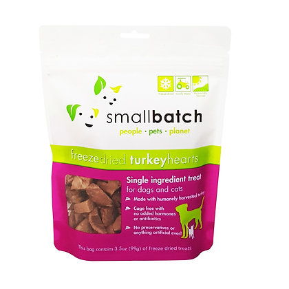 SmallBatch Turkey Heart Treat 3.5oz