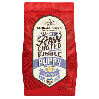 Stella & Chewy's Raw Coated Chicken Kibbles (Puppies) 3.5lbs