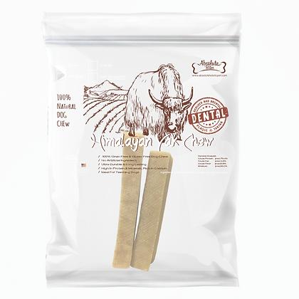 Absolute Bites Organic Himalayan Yak Chew Medium (2pcs)