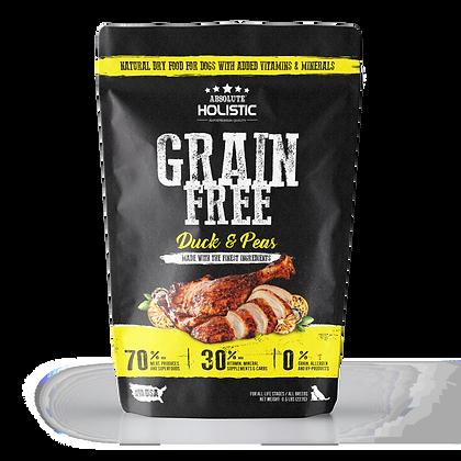 Absolute Holistic Grain Free Duck & Peas Dog Food 0.5lbs