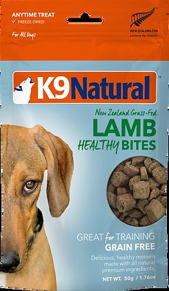 K9 Natural Freeze Dried Lamb Healthy Bites 50g