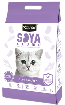 Kit Cat SoyaClump Lavender SoyBean Litter 7l