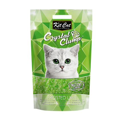 Kit Cat Crystal Clump Frosted Lime 4l/1.8kg