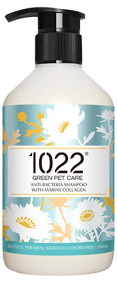 1022 Anti Bacterial Dog Shampoo 310ml/4l