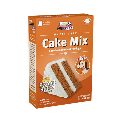 PuppyCake★Peanut Butter Flavour Cake for Dogs