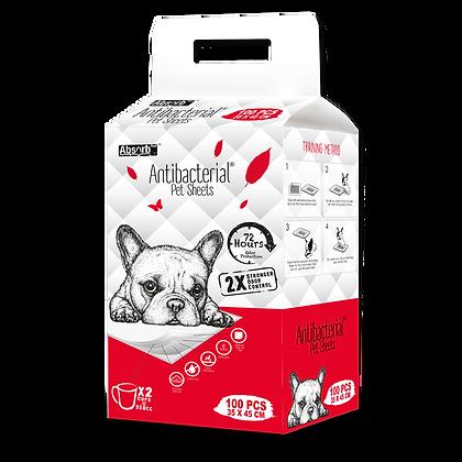 Absorb Plus Antibacterial Pet Sheets (35 x 45cm)
