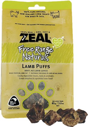 Zeal Lamb Puff 85g