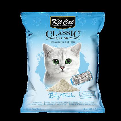 Kit Cat Baby Powder Classic Clump Cat Litter 10kg/7l