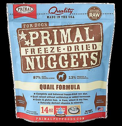 Primal Freeze Dried Quail (Dog) 14oz