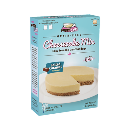 PuppyCake★Cheesecake Mix Salted Caramel Flavour